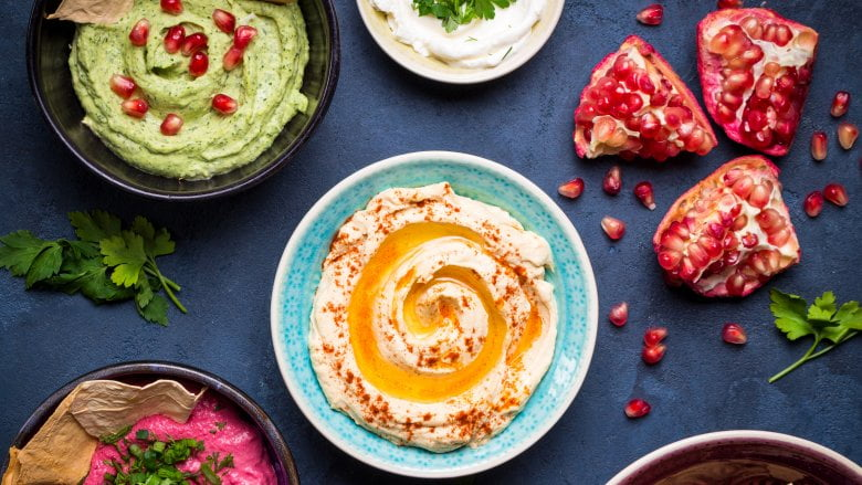 Ways to dress up store-bought hummus
